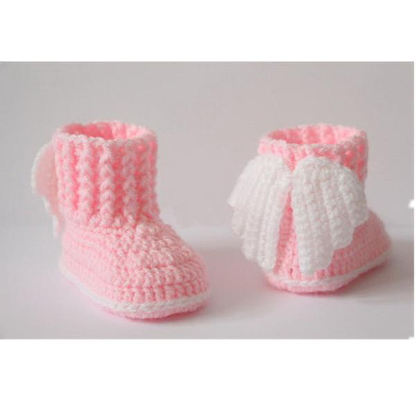 Großhandel Häkeln Sie Baby Booties, Babyschuhe, Winterschuhe, Socken ...