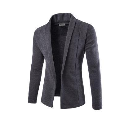 Concise V-Neck Sweater Coat Cardigan Sweater Men 2018 Male Solid Color Slim Mens Cardigan Sweater Coat Man Cardigan for Men Free Drop Ship