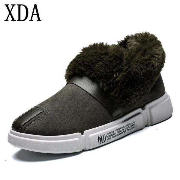 wholesale Winter boots Brand Women Flat Winter warm snow boots Plush Fur Female shoes Faux Fur Female add cotton Casual boots A88
