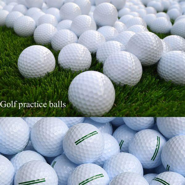10pcs/lot two-layer golf balls Driving range dedicated level 2 choice Golf practice balls