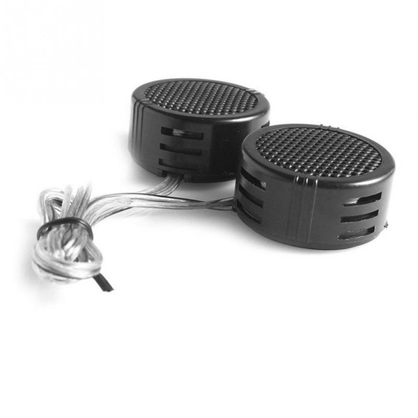 Car Loudspeakers,2 pcs Mine 500W High Efficiency Super Power Loud Dome Speaker Tweeter For Car Black Color