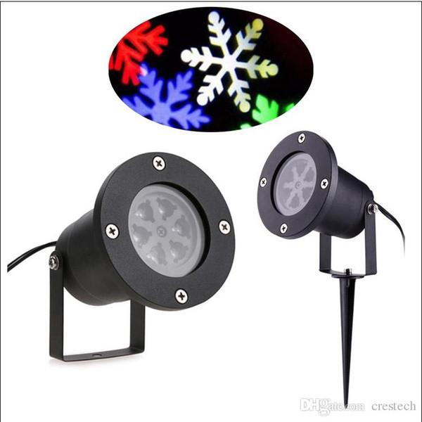 christmas snowflake LED snowflake projector AC100-265V EU US UK AU plug snow moving LED decoration xmas lamp outdoor LED lights
