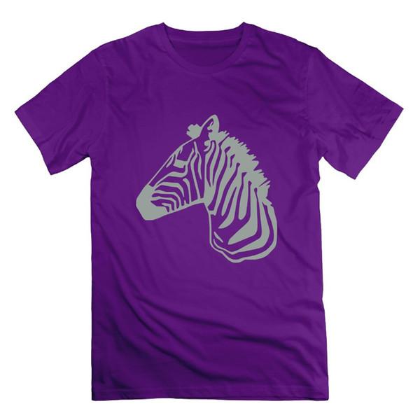 tops de verano 2018 camiseta Zebra raya Impresión diseño simple Camisa para hombre y mujer Top ropa manga corta