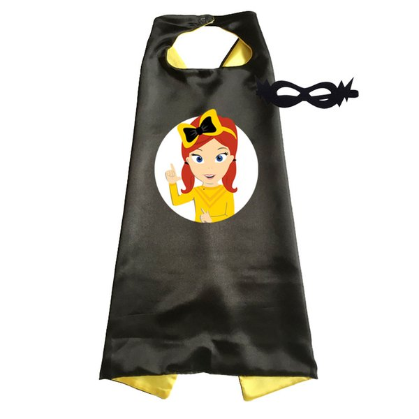 Cheap Emma Wiggle Costume Cape Girls Halloween Costumes for Birthday Party Favor Girls Costumes