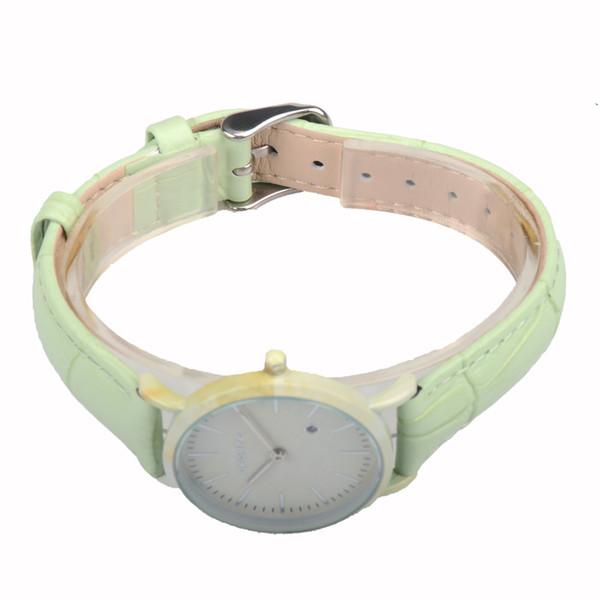 2018 Bewell best price quartz analog watch Janpanese orginally battery Green watch for ladies
