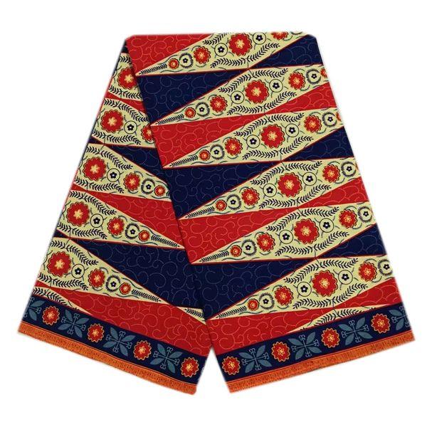 Veritable Wax Hollandais Guaranteed Real Dutch Wax 6yard/lot High Quality African Fabric Print Sewing lady dresses/wedding dress