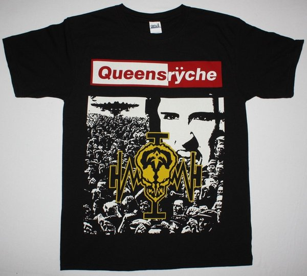 Queensryche Operation Mindcrime'88 Progressive Metal Savatage New Black T-shirt Hot Sell 2018 Fashion T Shirt Uomo Size sciolto