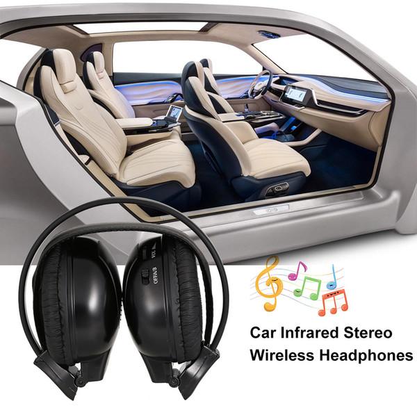 Infrarot-Stereo-Funkkopfhörer Dual Channel Over-Ear-Kopfhörer drahtlose IR-Kopfhörer Auto Zubehör Auto