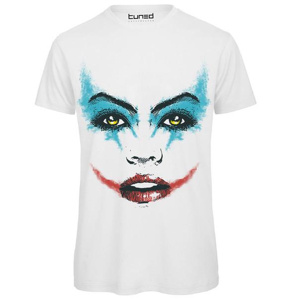 T-shirt Divertente Uomo Maglietta Cotone Con Stampa Colorata Woman Tuned Men T Shirt Great Quality Funny Man Cotton