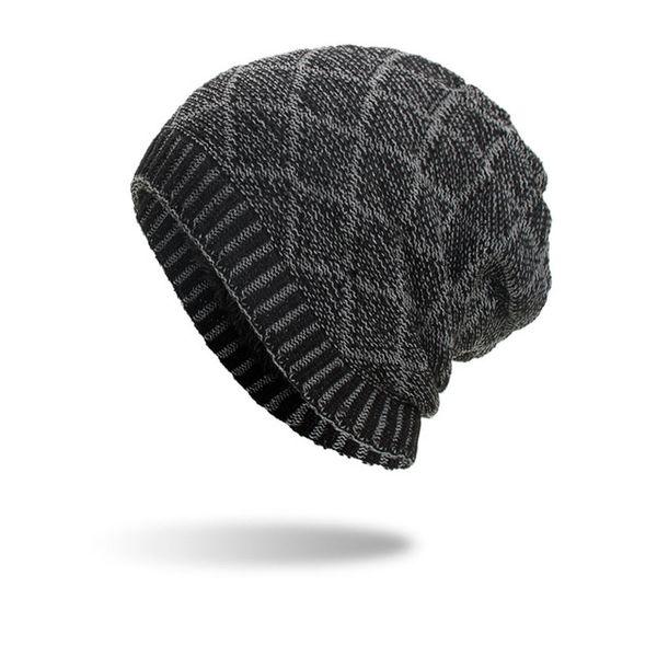 01df1278 Joymay Brand Winter Beanies Hat For Men 2018 New Unisex Plain Warm Soft  Skull Knitting Cap Hats Gorro Caps WM101 Slouchy Beanie Crochet Pattern  Baby ...