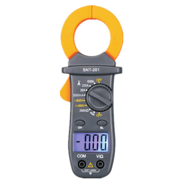 Palm Size AC/DC Voltmeter AC Current Electronic Tester Digital Clamp Meter With Backlight Buzzer Multimeter SNT201