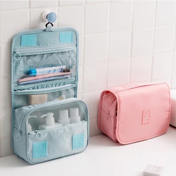 Açık taşınabilir su geçirmez tuvalet çantası seyahat tuvalet çantası cüzdan