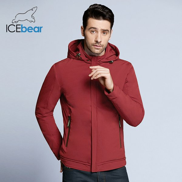 2018 new spring men's casual hooded High-quality men jacket short loose man coat brand spring coats with zippers MWF18099D