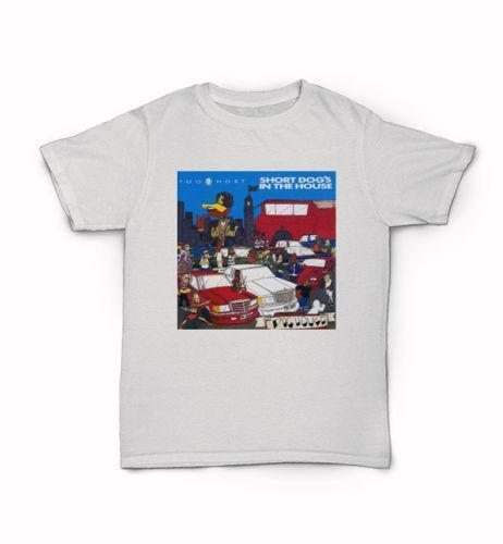 Too $hort T-Shirt Hyphy Bay Area Shirt Short Dog's in the house album cover Mens 2018 fashion Brand T Shirt O-Neck 100%cotton