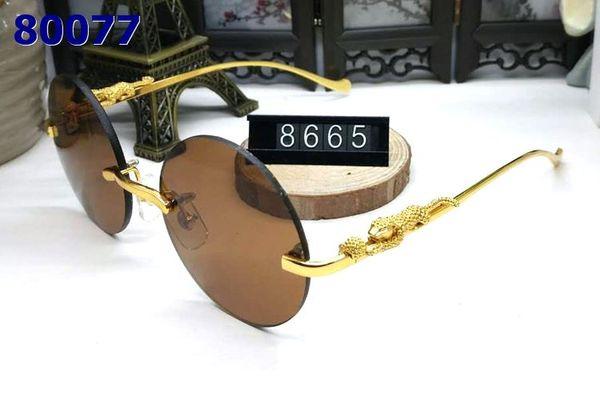 luxury designer sunglasses for women full rimless mens buffalo horn glasses with round lens gold metal buffalo sunglasses with box case