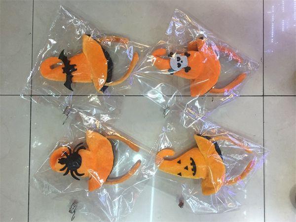 Children's Festive Fashion Accessories Halloween cute headbands Hoops Pumpkin bat hats adult children party dress up supplies V