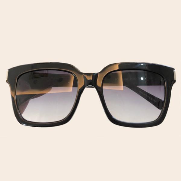 Kadınlar için yüksek Kaliteli Kare Güneş Gözlüğü Mens Vintage Asetat Çerçeve Shades Packingculos De Sol Feminino ile Orijinal Ambalaj Kutusu