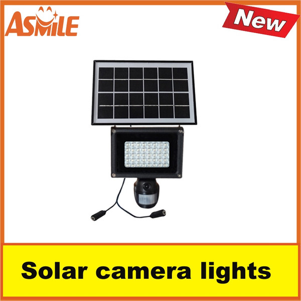 New Product Outdoor Security Lamp Camera 40pcs white LED Bead Solar Panel Light from asmile