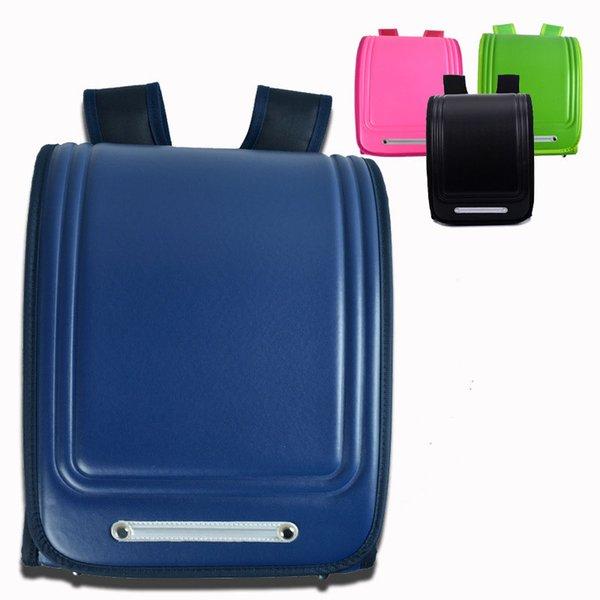 New Waterproof Pu Leather School Bags Children Orthopedic Backpack Kids Satchel Boys Backpack School Portfolio Mochila Escolar