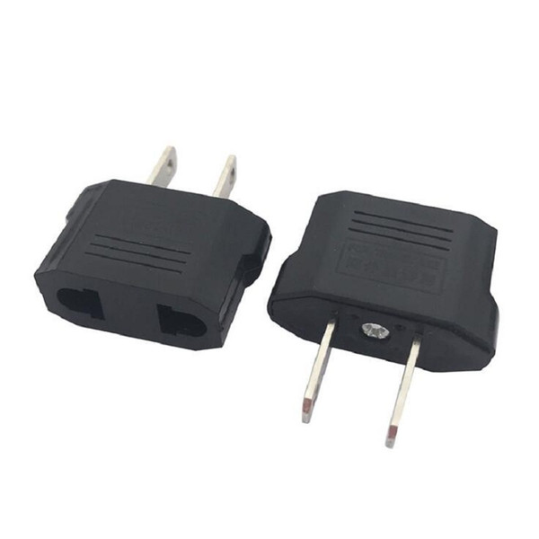 Home Use EU To US Plug Adapter Socket Converter Universal USA Travel AC Power Electrical Plug Adaptor x100