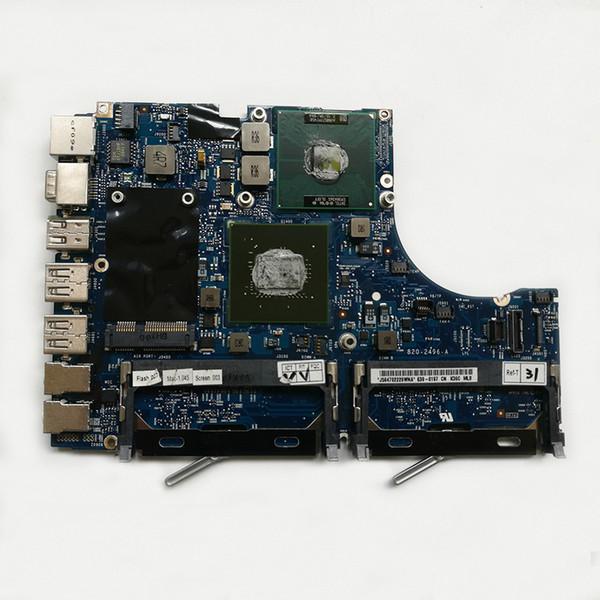 Placa base original del 95% de la placa madre 2.13 GHz Core 2 Duo Tarjeta lógica de Intel 820-2496-A para Macbook 13''A1181 MC240 2009
