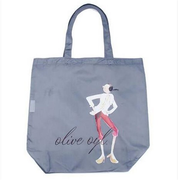 Free shipping Folding Handbag Travel Portable Waterproof Shopping Storage Bag shopping bag Storage Bags