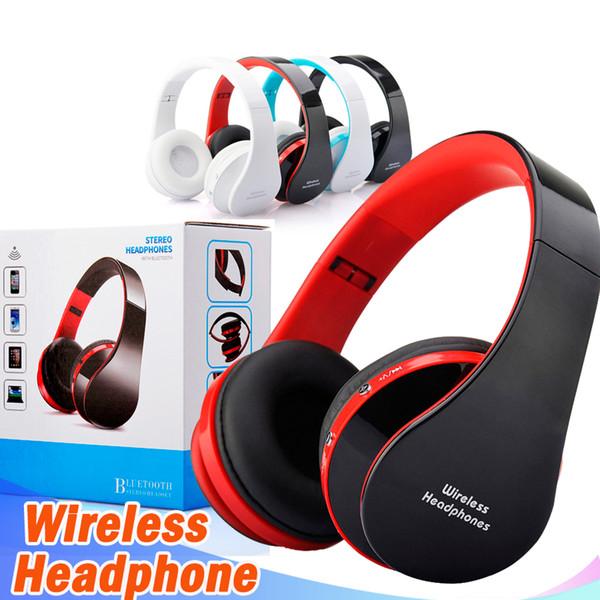NX-8252 Wireless Stereo Bluetooth Kopfhörer Faltbarer Sport Kopfhörer mit Mikrofon Bluetooth Headset Für Handy MP3 pc