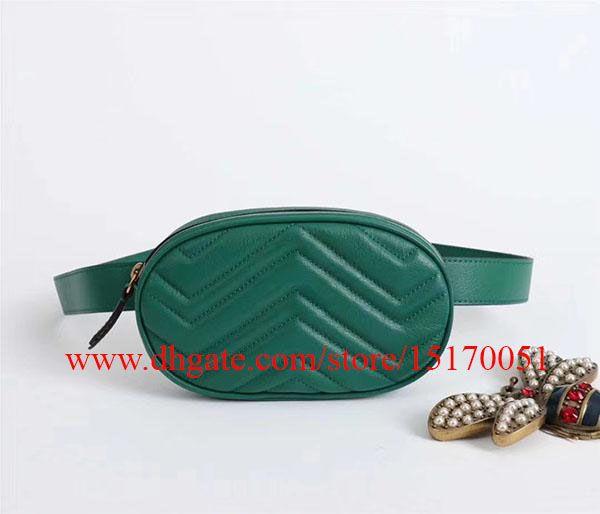 brand new genuine leather belt bag famous designer waist bag high quality Waistpacks with long strap 476434