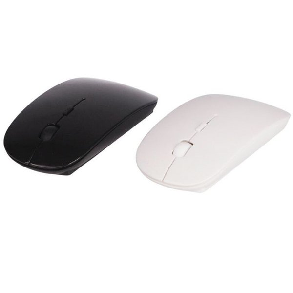 2018 New Ultra Thin USB Optical Wireless Mouse 2.4G Receiver Super Slim Mouse For Computer PC Laptop Desktop 6 Candy color