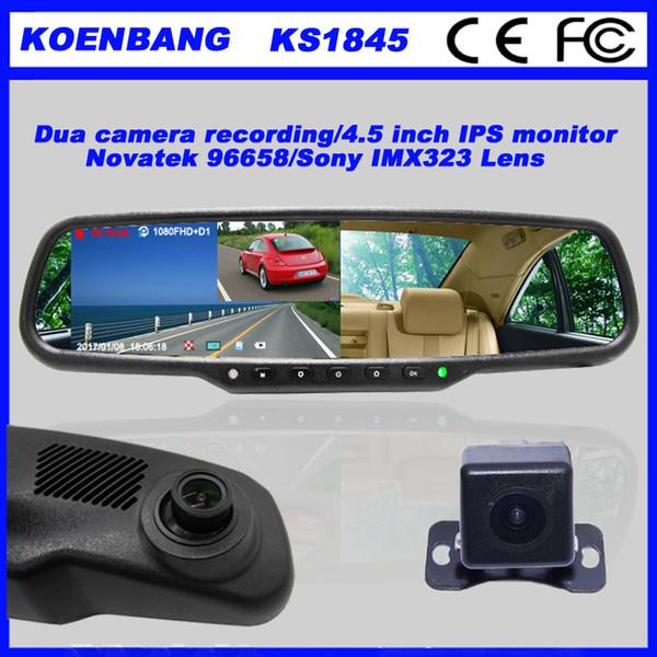 KOENBANG Full HD 1080P 150Degree 4 5 Inch IPS Screen Car DVR