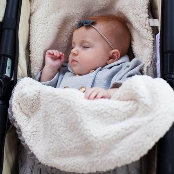check out 1f39b d6e4a 2018 New Winter Autumn Newborn Baby Blanket Swaddle Sleeping Bag Kids  Toddler Sleep Sack Stroller Wrap Warm Sleeping Bag Best Backpacking  Sleeping ...