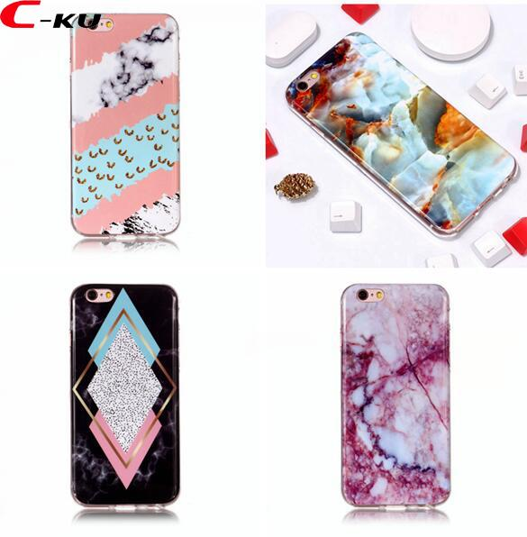 Bling Marble IMD TPU Soft Case For Iphone XR XS Max 6.1 6.5 X 8 7 6 6S 5 5S SE 5C 4 4S Ipod Touch 5th 6th Granite Phone Skin Cover 100pcs