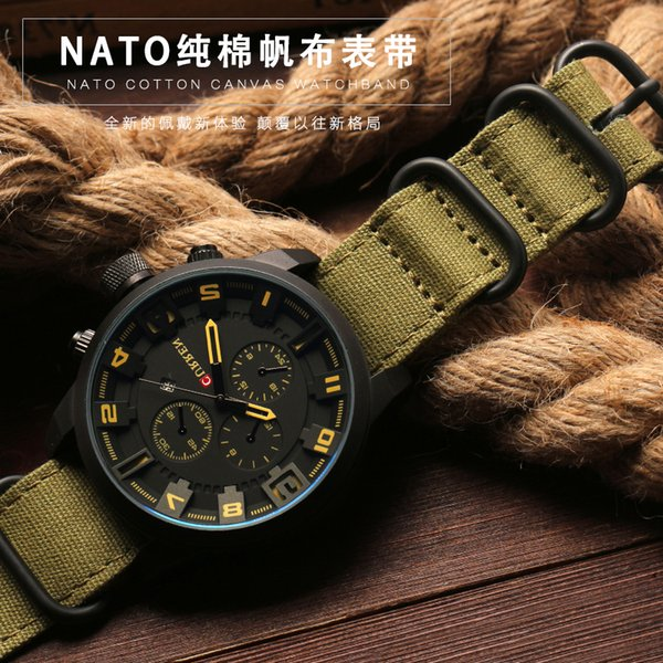 Laopi jiang Watch Band 20 22 24 26mm Negro Ejército Verde ZULU Nato Nylon Lona de lona Correa de reloj Negro Hebilla de plata