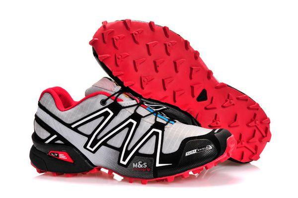 Großhandel Salomon Marke Heißer Verkauf Solomons Speedcross 3 CS Trail Freizeitschuhe Frauen Leichte Turnschuhe Navy Solomon III Zapatos Wasserdichte