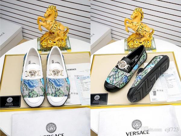 Diseñador de lujo caliente zapatos elegantes hombres Oxfords zapatos de vestir de cuero genuino formal de la boda de alta calidad Slip On Business Shoes tamaño 38-45
