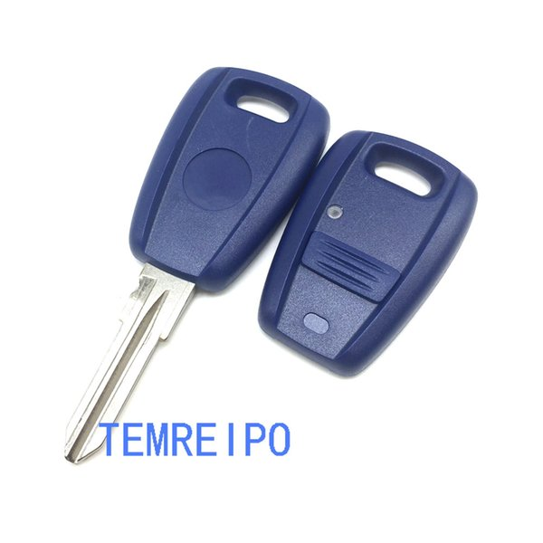 Car Key Cover 1 Button Remote Key Replacement Case For Fiat Punto Doblo Bravo Transponder Auto Key Shell