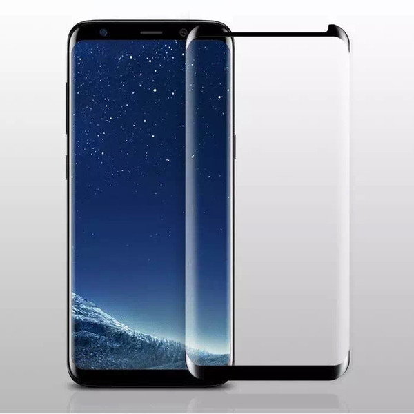 Case Friendly Full Cover Coverage 3D Curved Tempered Glass For Samsung Galaxy S9 Plus S8 S7 Edge Note 9 8 Small Version Screen Protector