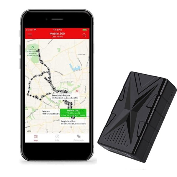 Waterproof Vehicle GPS Tracker AL01 Strong Magnetic GPS Car Tracking Locator