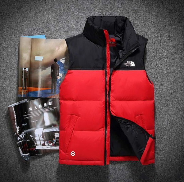 best selling Top Quality Winter men Down Hoodies NORTH Jackets Camping Windproof Ski Warm Down Coat Outdoor Casual Hooded Sportswear FACE vest