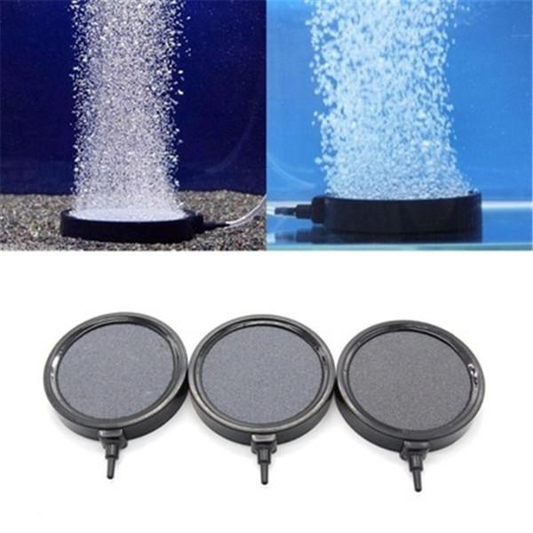 top popular Various Diameter Aquarium Air Bubble Stone Disk Fish Tank Oxygen Air Pump Aerator Hydroponic Oxygen Bubbles Stones Accessories 2021