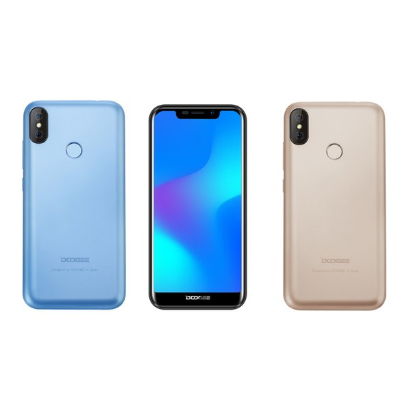 Doogee X70 5.5inch 2GB+16GB WCDMA Android 8.1 OS 8+5MP Real Camera Real Touch ID GPS Bluetooth WIFI Dual SIM Mobile phone