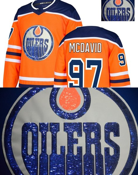 official photos e7666 5cc39 2019 McDavid Special Wafer Stiched,Shiny Jersey Edmonton Oilers Connor  McDavid Nugent Hopkins Nurse Talbot Lucic Eberle Custom Hockey Jerseys From  ...