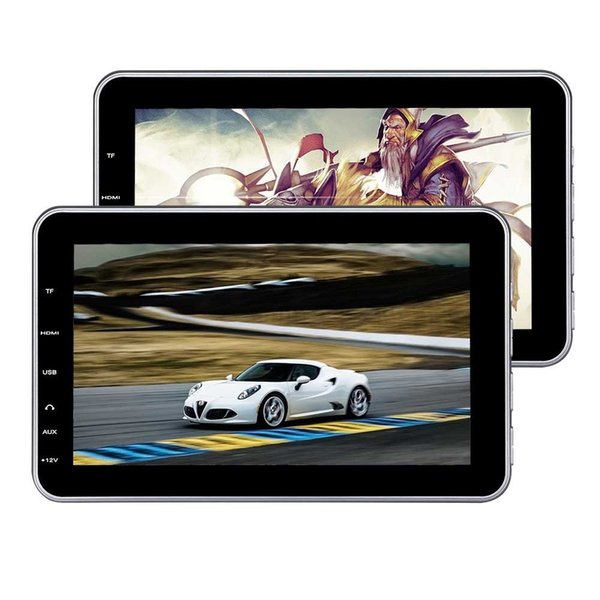 10.1'' Headrest DVD Players Monitor Twin Screen USB SD HDMI Backseat Audio Video Player Tablet-style Car dvd Entertainment IR/FM Transmitter