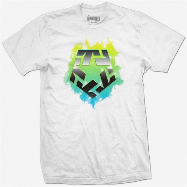 Funny Shirts Crew Neck Short-Sleeve TRIBAL GEAR Original CLOUD T-Shirt Tee weib white Hip-Hop Casual Clothing