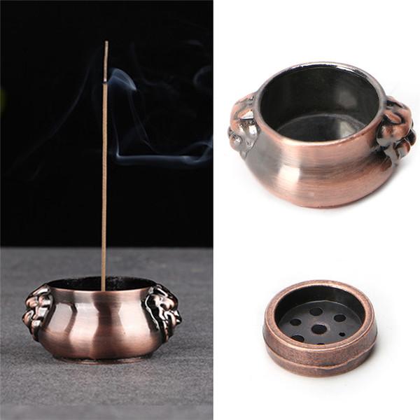Incense Burner Plate Holder Ash Catcher Holder Ornament for Buddha Temple Incense Stick Cone 7 Holes Home Teahouse Decor
