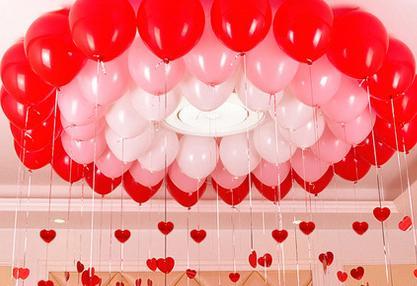 Bridal wedding room decoration wedding scene layout balloon bridal wedding room decoration wedding scene layout balloon decoration accessories laser sequins balloon pendant junglespirit Images