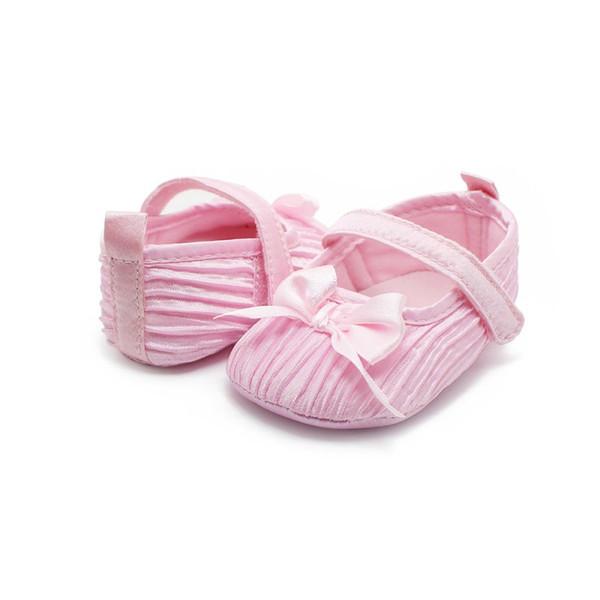 Детские Обувь Для Девочек Малыш Младенческой Мягкие Противоскользящие Обувь Дети Принцесса Первый Ходунки