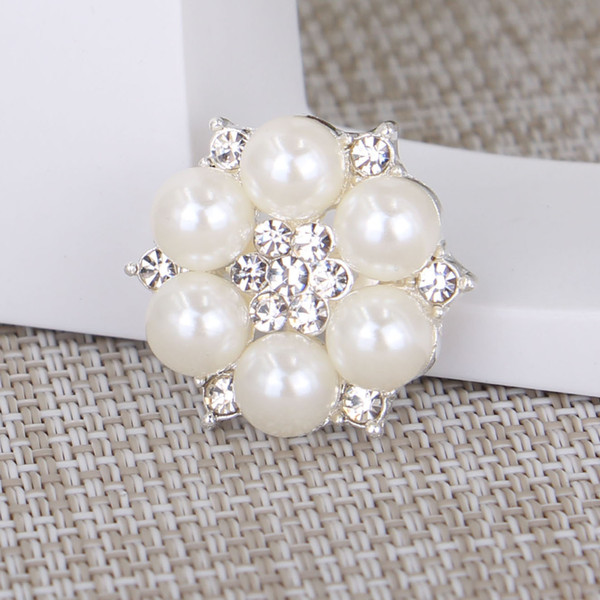 New! 14K Luxurious Fashion Designer AAA Pearl Rhinestone Brooch Suit Men and Women Corsage Gem Tie Pin Party Wedding Gift B7