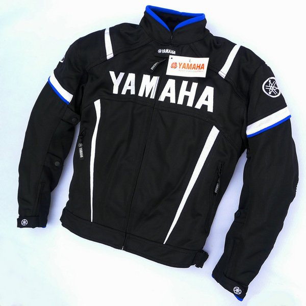 top popular For Yamaha Summer Motorcycle Riding Protective Mesh fabric Jacket Automobile Jacket Moto Chaqueta With Protectors jaqueta motoqueiro 2019