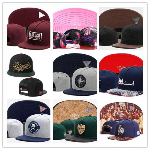 Envío gratis Cayler Hijos gorras de béisbol bordados de Brooklyn sombreros  del Snapback Gorros ajustables del 5419420119d